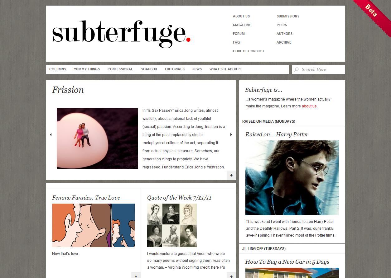 Subterfuge Magazine