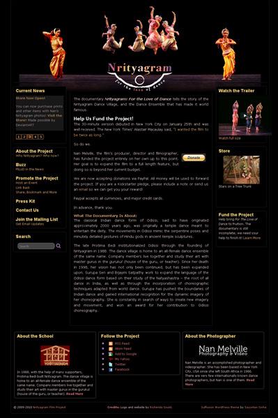 Nrityagram Website