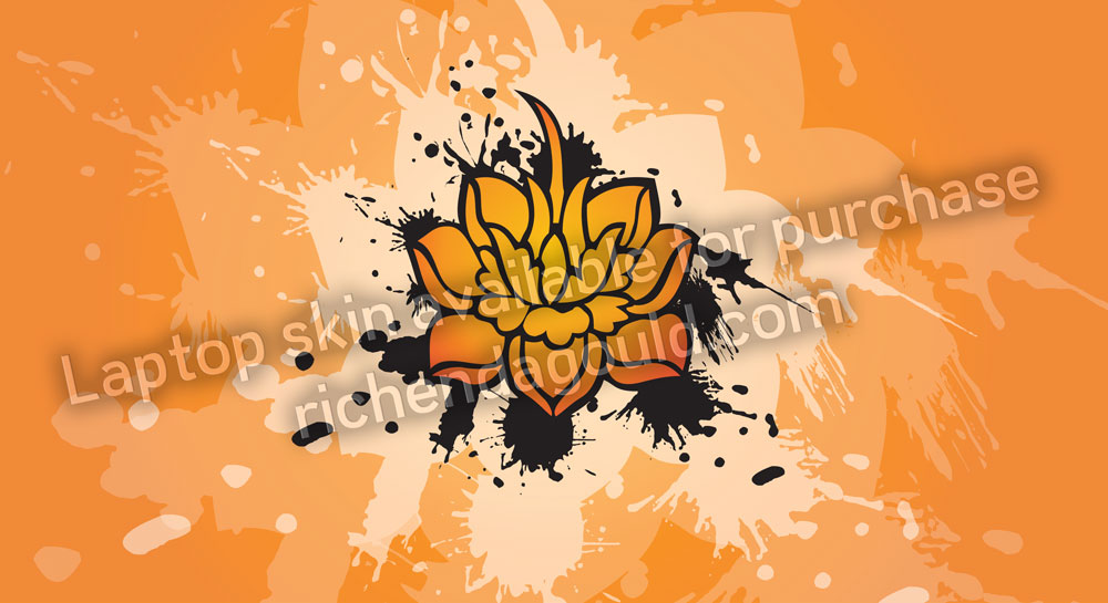 Laptop Decal: Lotus